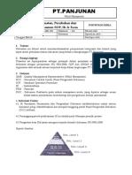 07 Tata Cara Pembuatan, Perubahan Dan Pengesahan Dokumen SOP, IK & Form