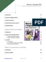 Macros y Lenguaje VBA - Aprender a Programar Con Excel (3ª Edición)1