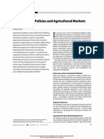 Development Policies and Agricultural Markets Author(s)- RAMESH CHAND