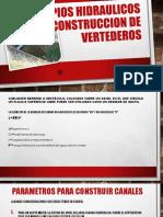 Parametros construccion de vertederos