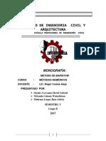 Trabajo Metodos Numericos Metodo de Bairstow 1