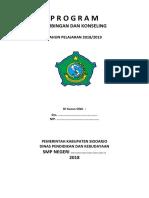 Program Bk Smp Kelas 8