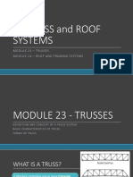 09. Truss and Roof Systems