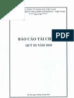 BC Tai Chinh Quy III 2018