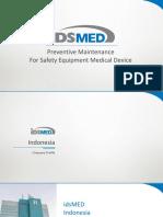 Manajemen Keamanan Alat Medik PT IDS