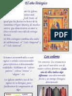 clase de calendario litúrgico
