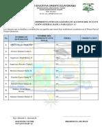 Registro de Asistencia PPFF 8vo