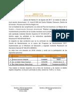 ACTA I. E. I. N° 442 - CHAMORRO