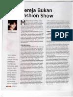 Gereja Bukan Fashion Show Anna Avantie