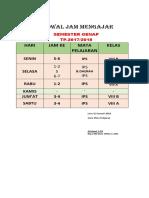 JADWAL JAM MENGAJAR.docx