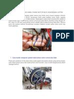 Cara Pengecekan Kabel Phase Motor Bldc Kendaraan Listrik
