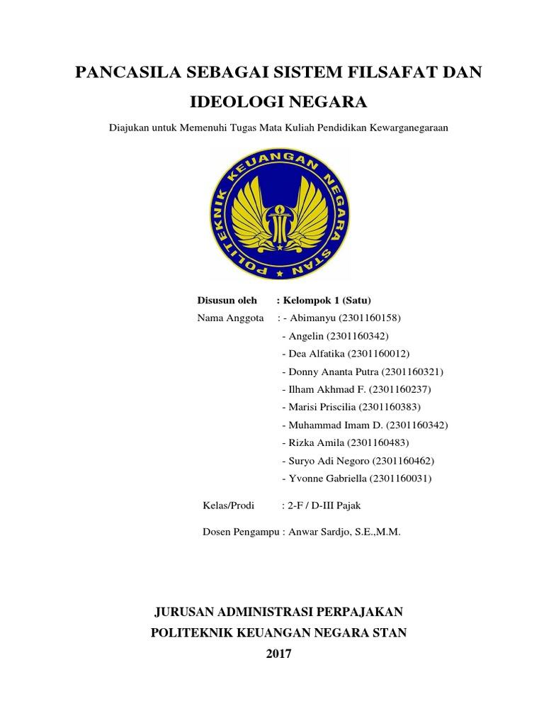 Cover Makalah Pkn