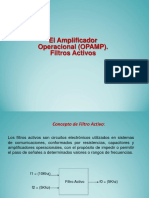 Amplificador Operacional Opamp Filtros Activos Presentacion Powerpoint