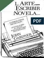 EL ARTE DE ESCRIBIR UNA NOVELA