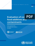 (Technical Report Series (World Health Organization), 837) Joint FAO_WHO Expert Committee on Food Additives-Evaluation of Certain Food Additives and Contaminants _ Forty-first Report of the Joint FAO