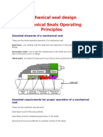 Mechanical Seal Design