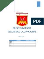 LEP-P-71111 Procedimiento de Seguridad Ocupacional