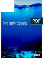 Petrel Reservoir Engineering