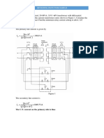 Transformer protection worked examples