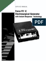 Valleylab Force FX-C ESU - Service manual.pdf