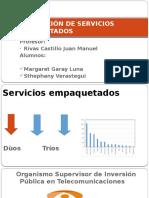 Regulación de Servicios Empaquetados