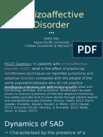 gnrs 584 cduc mphi dap presentation schizoaffective disorder