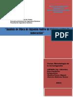 Análisis de Fibra de Algodón Nativo de Colores Contra La Sudoración (Recuperado)
