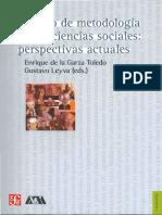 Toledo, Enrique de la Garza & Leyva, Gustavo - Tratado de Metodología de Las Ciencias Sociales Perspectivas Actuales.pdf