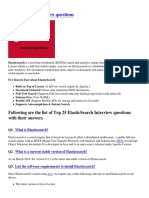 Elasticsearch Interview Questions-PDF