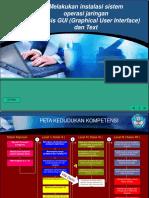 Slide KK12 Melakukan Instalasi Sistem Operasi Jaringan Berbasis GUI Dan Text