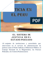 Justicia en El Peru