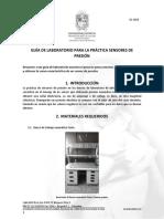 GUÍA DE LABORATORIO PARA LA PRÁCTICA SENSORES DE PRESIÓN