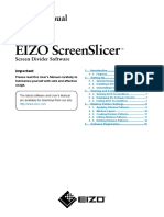EIZO ScreenSlicer Manual-EN