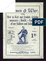Women & War Knit and Crochet articles for soliders.pdf