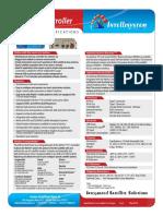 Intellisystem 7711 Controller -  Integrated Satellite Solutions