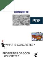 1 Concrete Intro