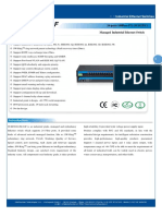 IT ES5024 IM 24F Datasheet - INDUSTRIAL ETHERNET MANAGED SWITCHES