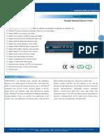 IT ES5024 IM Datasheet - INDUSTRIAL ETHERNET MANAGED SWITCHES