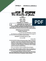 RTI Gazette Notification