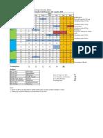 Academic Calendar Odd Sem 2018-19