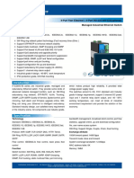 IT ES600 IM Series Datasheet - INDUSTRIAL ETHERNET MANAGED SWITCHES