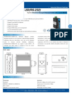 It Es605 Im 1f 2d Rs 232 Datasheet - INDUSTRIAL ETHERNET MANAGED SWITCHES