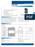 It Es605 Im 2d Rs 485 Datasheet - INDUSTRIAL ETHERNET MANAGED SWITCHES