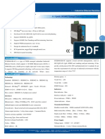 IT ES608 IM 4F Datasheet - INDUSTRIAL ETHERNET MANAGED SWITCHES