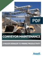 Installation Maintenance Troubleshooting Guide - Conveyor