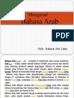 Presentasi Bhs Arab Pert2
