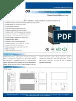 It Es7120 Im 4gs Datasheet - INDUSTRIAL ETHERNET MANAGED SWITCHES