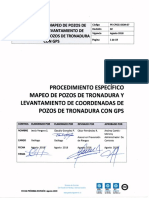 Procedimiento Mapeo de Pozos de Tronadura y Levantamiento de Coordenadas de Pozos de Tronadura Con Gps Pe-cpgg-dgm-07. Rev 02