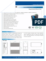 It Es716 Im 2gs Datasheet - INDUSTRIAL ETHERNET MANAGED SWITCHES