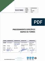 Procedimiento Mapeo de Torres Pe-cpgg-dgm-06. Rev 02